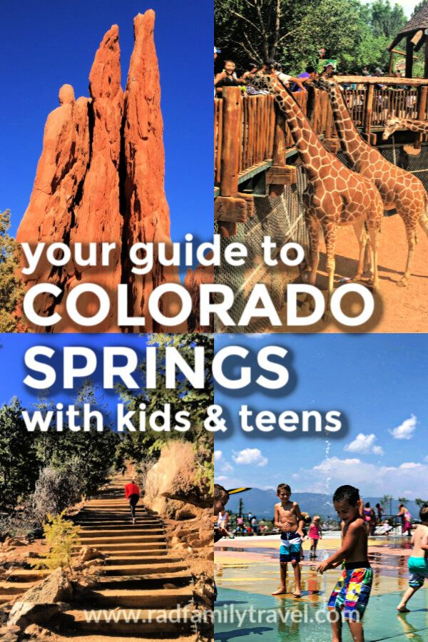 Colorado Springs Fun Things To Do With Kids Rad Family Travel Colorado Travel Colorado Vacation Colorado Springs Vacation