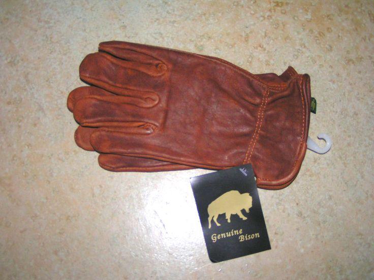 Bison leather work gloves #NorthAmericanTrading