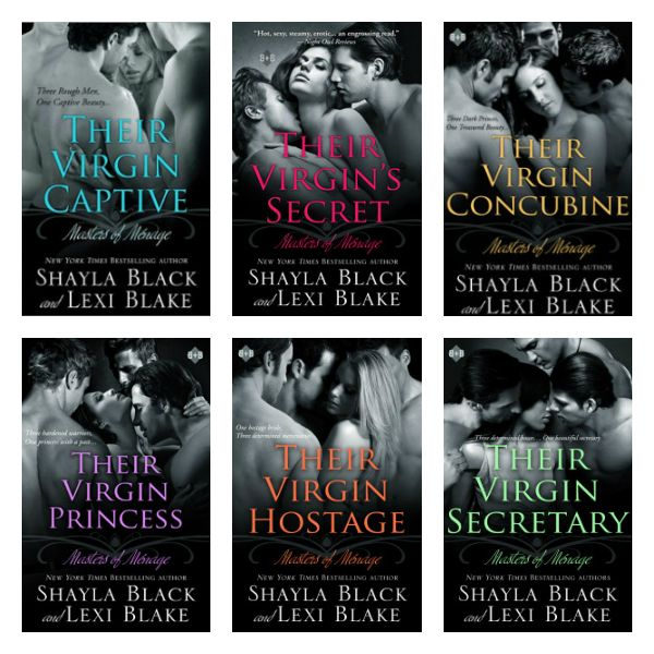 Masters of Menage Series: hayla and Lexi are giving away an entire SIGNED set of the series INCLUDING Their Virgin Secretary! Open Internationally! Just enter the Rafflecopter for your chance to win! http://shaynareneesspicyreads.com/2014/04/%E2%9C%AF-new-release-%E2%9C%AF-their-virgin-secretary-masters-of-menage-book-6-by-shayla-black-lexi-blake.html
