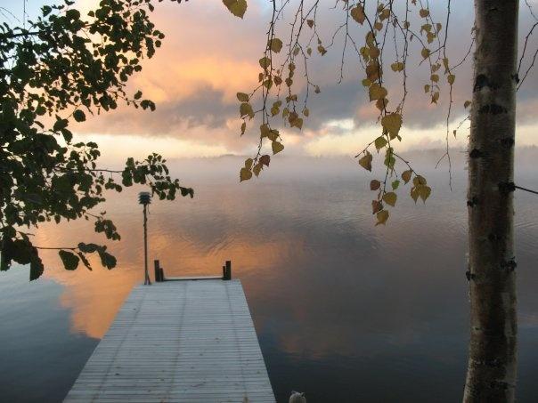 Lake Saimaa, Finland - at home!