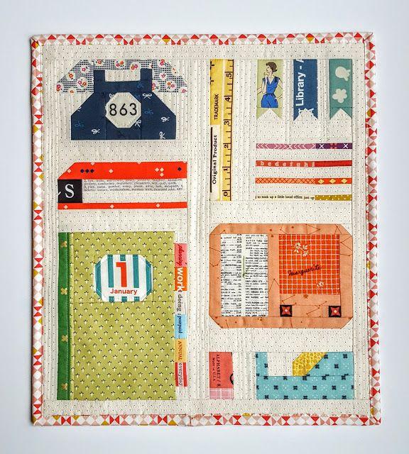 Fabric Mutt: Desktop Sampler Quilt Tutorial