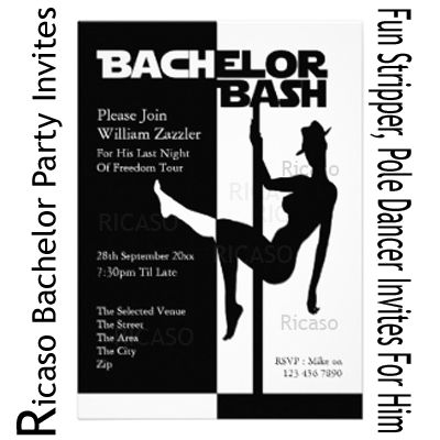 87 best images about Bachelor Party – Pole Party Invitations