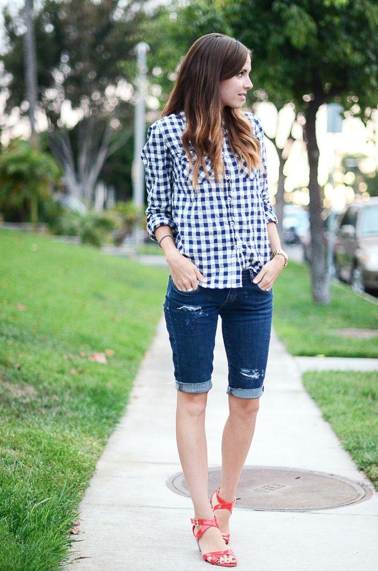 best 25+ long shorts ideas on pinterest | girls long shorts