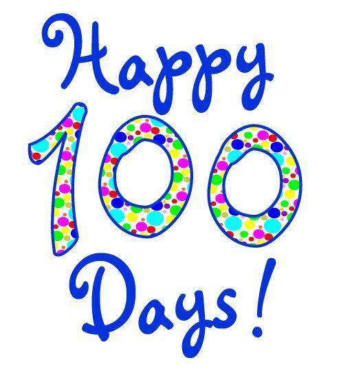Открытки 100 дней