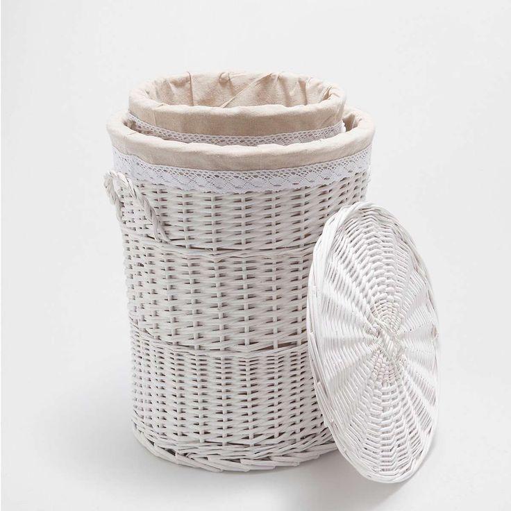 cestos de ropa sucia mimbre ikea