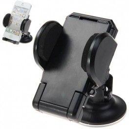 Support Rotatif de pare-brise de voiture pour Smartphone compatible iPhone 5/4/4S/3G/3GS