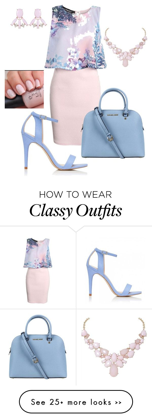 """""""Classy"""" by ebony13marie on Polyvore featuring Boohoo, Michael Kors, Forever New, Humble Chic and Lady Fox"""