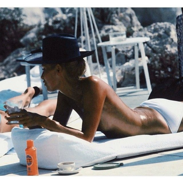 La Dolce Vita by Slim Aarons, the real Slim Shady