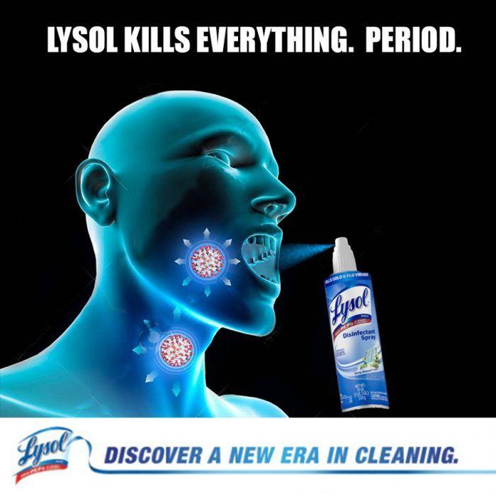 Lysol Memes Bleach Memes And Disinfectant Memes Get Them In There Hilarious Memes Bleach Meme