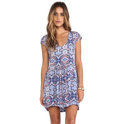 Alessandra Ambrosio style. Tigerlily Vienne Dress. View this product here http://wheresthatstyle.com/products/12296-tigerlily-vienne-dress