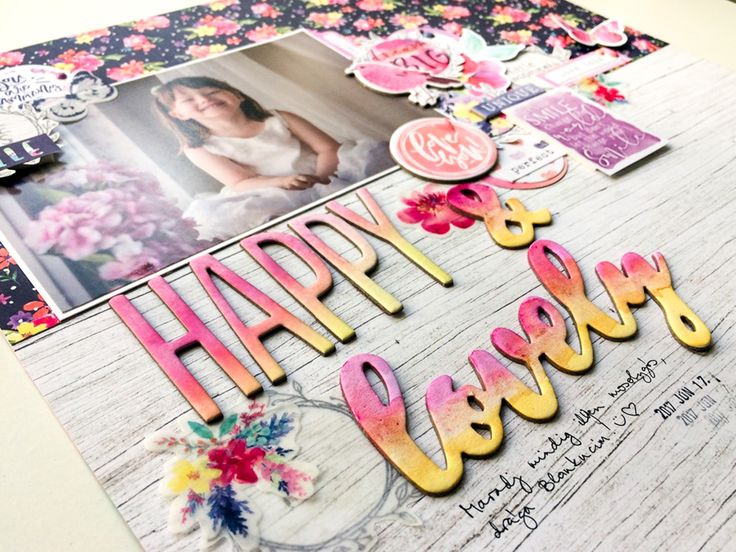 Pink and Paper Blog: Bohemian Dream Scrapbook Layout