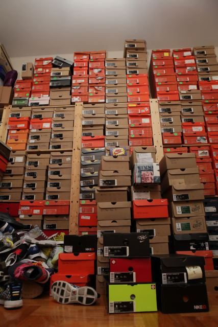 20 of the Most Epic Sneaker Collection Photos You'll Ever See  Read more: http://solecollector.com/news/20-of-the-most-epic-sneaker-collection-photos-you-ll-ever-see/#ixzz39u1joy43
