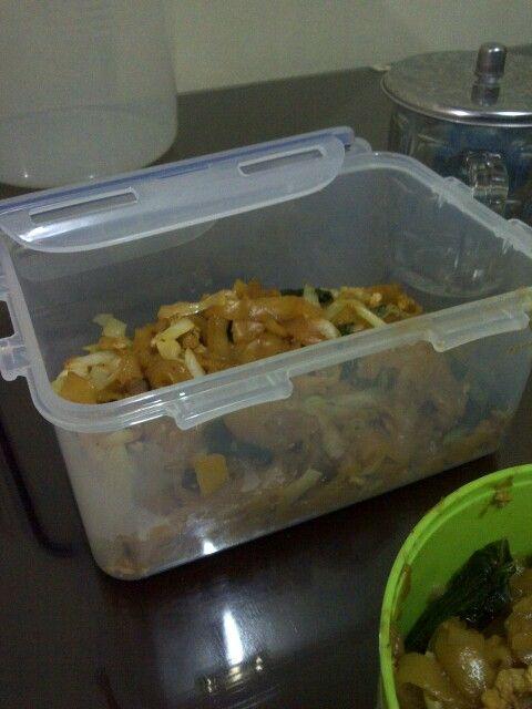 Fried kwetiauw