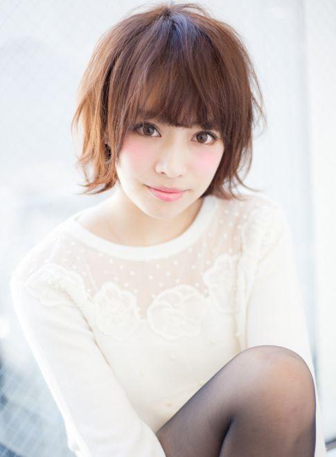 動きのある外ハネ耳かけショートボブ 【AFLOAT JAPAN】 http://beautynavi.woman.excite.co.jp/salon/28130?pint ≪ #shorthair #shortstyle #shorthairstyle #hairstyle・ショート・ヘアスタイル・髪形・髪型≫