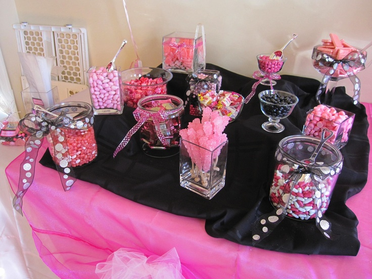 Baby Shower Favors Queens Ny ~ My daughters girlfriend put together the candy bar for