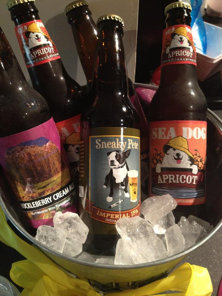 Dog themed Beer! Birthday party for Sundae the Westie