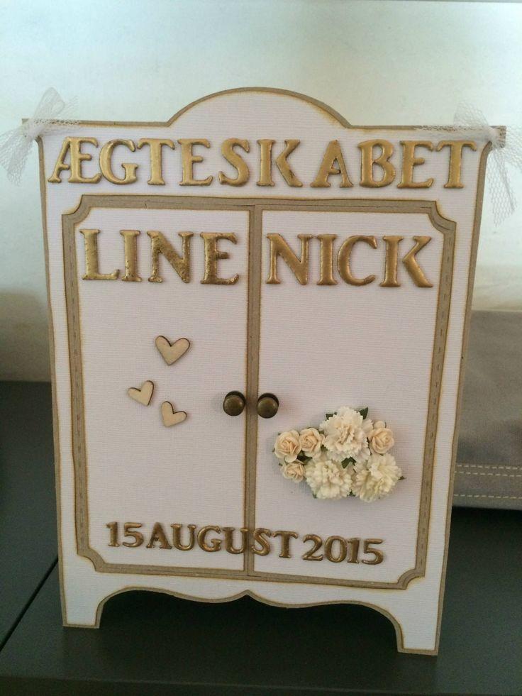 Sangskjuler til Line og Nick bryllup