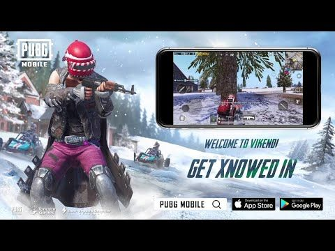 PUBG MOBILE: Vikendi is now live! Get Xnowed In! - YouTube | Hi