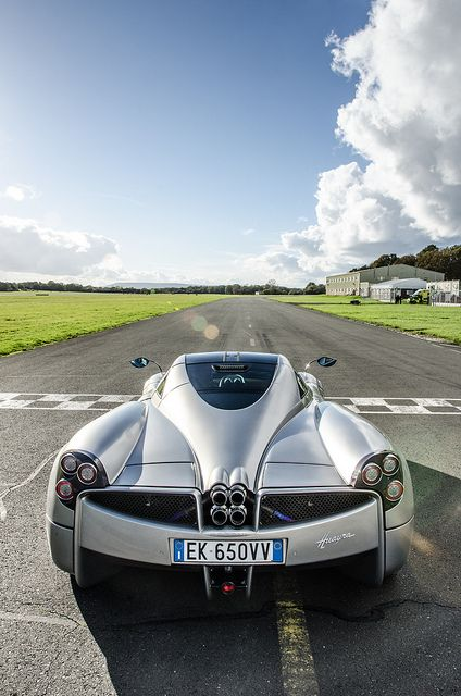 Pagani Huayra by Rowan Horncastle, via Flickr