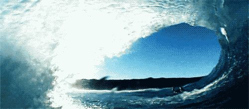 waves gif animated   Animated Ocean Waves Crashing