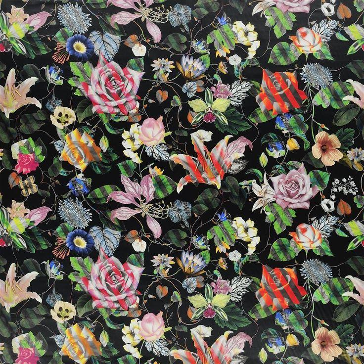 malmaison - reglisse Fabric