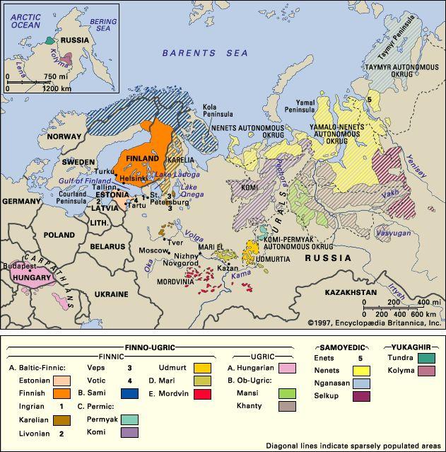Uralic Languages and Finno-Ugric