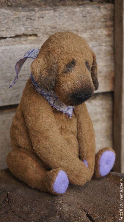 Садовый пёсик - мишки тедди,тедди,мишка тедди,кризалит,коричневый,друг