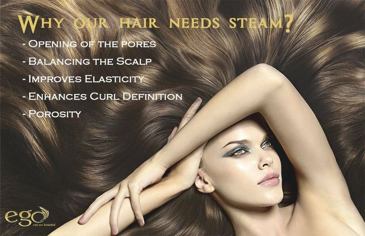 Why our #hair  needs #Steam  ‬? - Opening of the pores - Balancing the Scalp - Improves Elasticity - Enhances Curl Definition - Porosity For more #tips visit: egowellnessbangaloretips.tumblr.com  #Bangalore