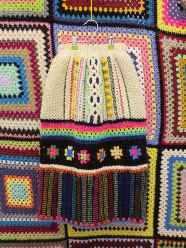 Granny Takes  Trip - crochet fashion