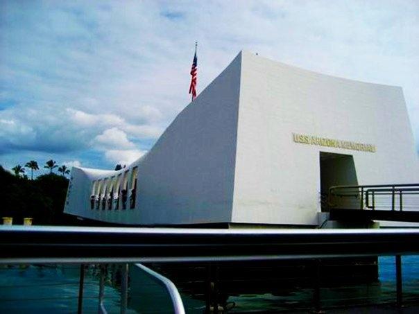 Memorial at Pearl Harbor - taken in 2008