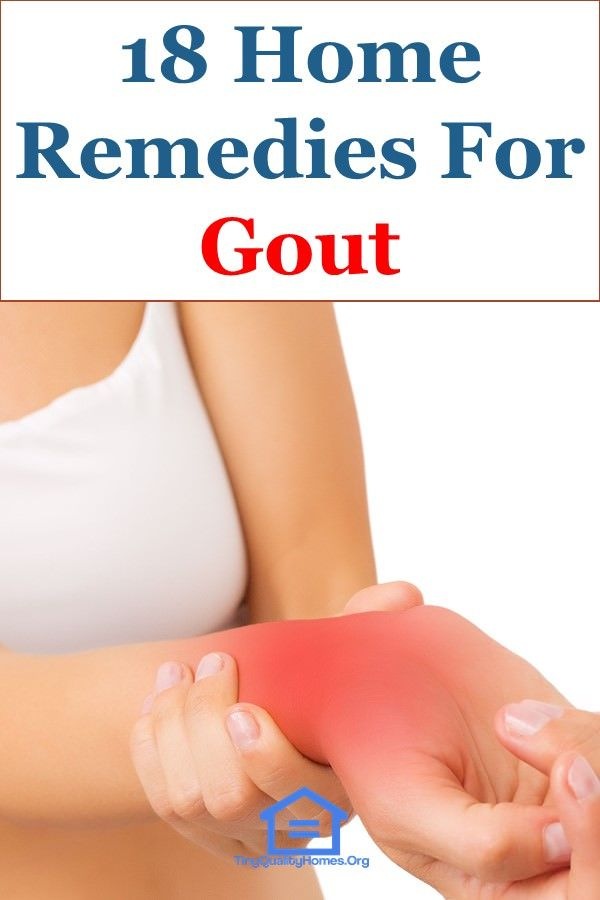 18 Effective Home Remedies For Gout | Home Remedies | Gout