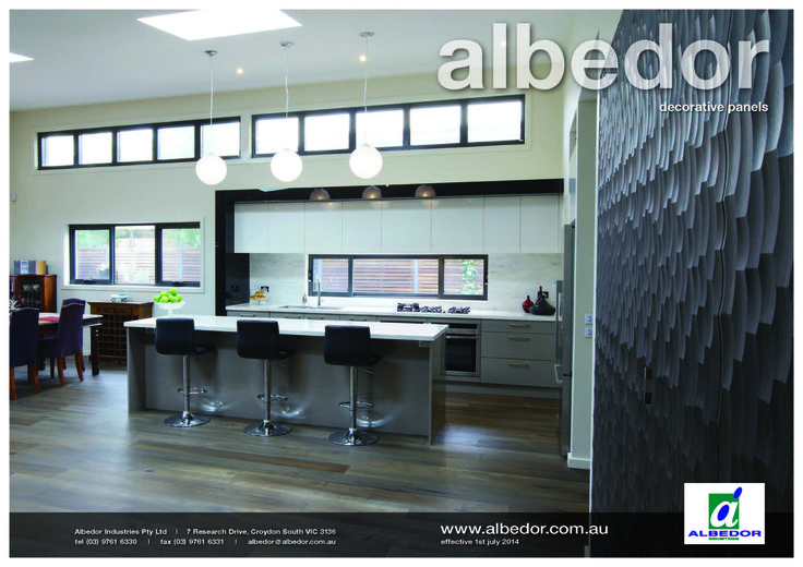 Decorative Panels Mini Brochure. If you would like to view or download our Brochure just click on the link below- http://www.albedor.com.au/images/downloads/brochures/2016_decorative_panels_mini_brochure.pdf