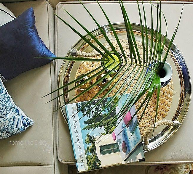 Palma kokosowa - liście egzotyczne  exotic leaves - homelikeilike.com