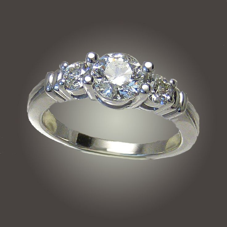 31 best engagement ring remount images on pinterest for Ideas for redesigning wedding rings