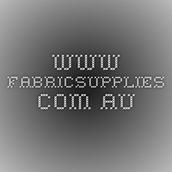 www.fabricsupplies.com.au