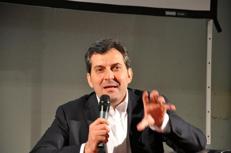 Mario Calabresi in Marchesini per Fior di Risorse