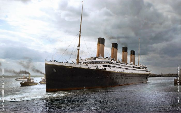 A description of the worlds biggest ship the rms titanic in 1912