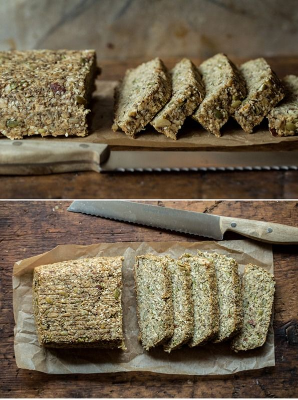 Toasted Super Seed Power Bread