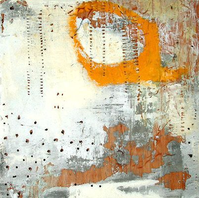 If it's not encaustic, it could be