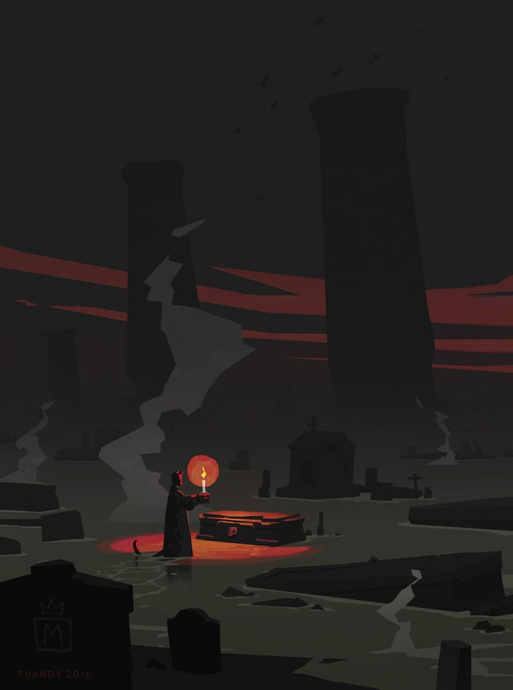 I finished reading the final chapters of Mike Mignola's Hellboy comics and I couldn't resist doing a little fanart/tribute to one of my all time favorite artists. This is loosely based on a panel of Mike's in the final book of Hellboy in Hell. The...
