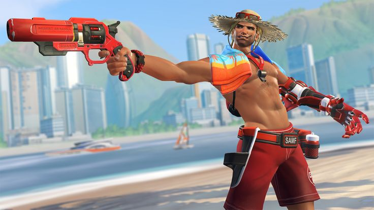 Terrible news, everyone: professional doof McCree, a fake cowboy who can't even quote a more famous fake cowboy correctly, got hot. The Overwatch community is struggling with this sudden and confusing development.