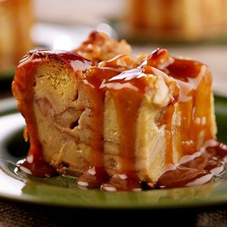 This mouth-watering Apple Pie Bread Pudding #recipe is a nice treat after a hard day at work!