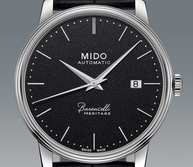 Extra flach: Mido Baroncelli Heritage