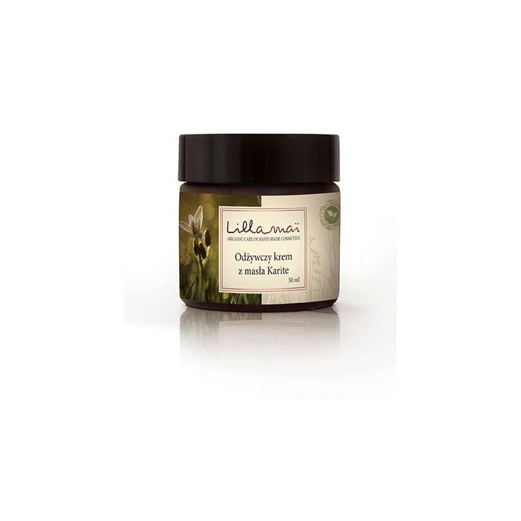 Odżywczy krem z masła Karite - Nieprzyzwoicie naturalny sklep dla kobiet lubiących siebie
