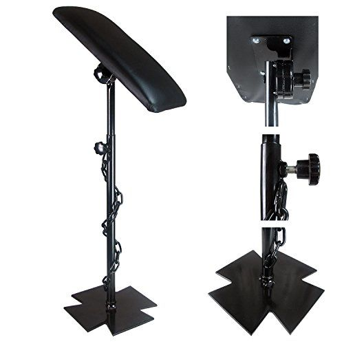 Solong Tattoo Heavy Duty Iron Tattoo Arm Rest Leg Rest Full Adjustable Armrest Kit TA210 * You can get additional details at the image link.