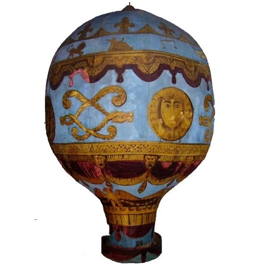 Balão de Montgolfier, para tentativa de fuga aérea #2012