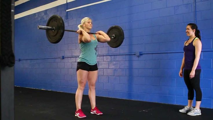 Time to brush up on your technique - #TechniqueThursday Great tips for the Clean and Jerk from Natalie Burgener