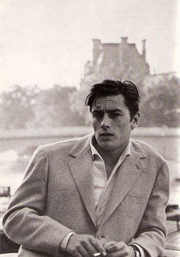 Alain Delon french actor, La Seine a Paris