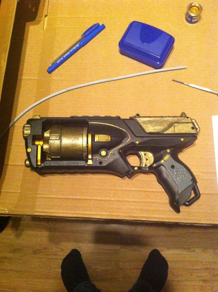 Steampunked nerf gun w.i.p