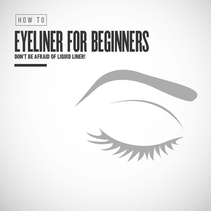 The tutorial: | I, A Person Horrible At Eyeliner, Tried Pinterest Eyeliner Tips